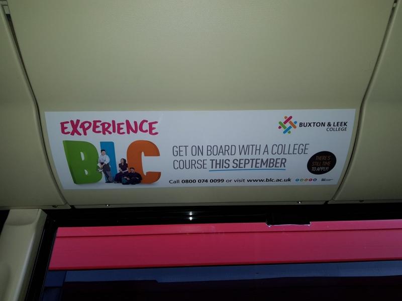 Buxton & Leek College Headliner D&G Aug 17