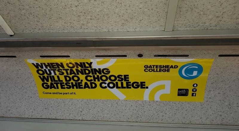 Gateshead College Headliner Jun 17 Stanley Travel