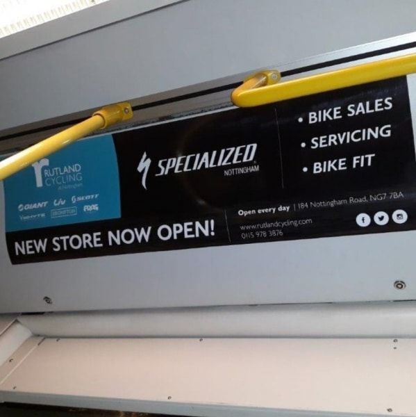 Rutland Cycling Headliner Tram NET