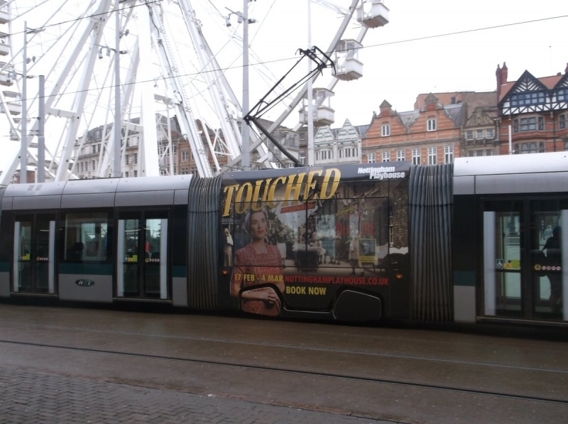 Notts Playhouse Touched Tram Supersquare Feb 17