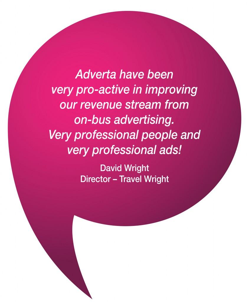 Media Partner Travel Wright Testimonial