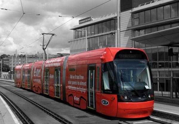 Tram Wrap B&W (2)