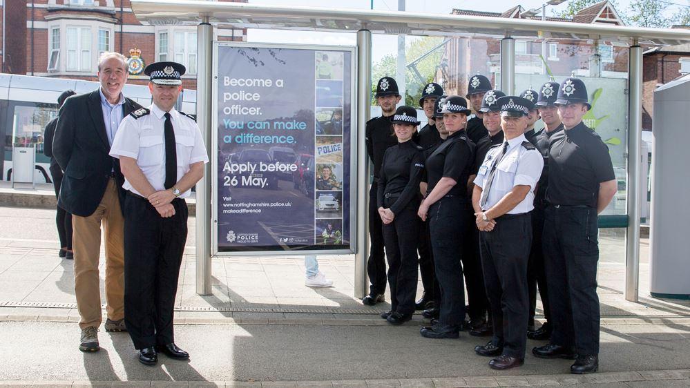 Nottinghamshire Police Recruitment Advert