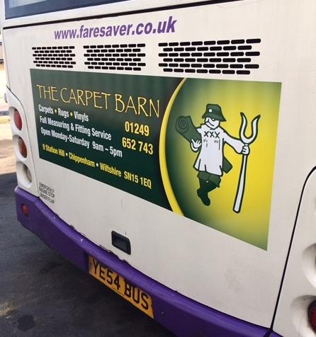 Bus Advertising in Wiltshire