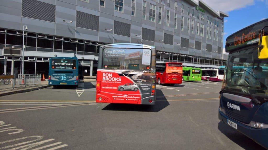 Derbyshire Bus Advertising
