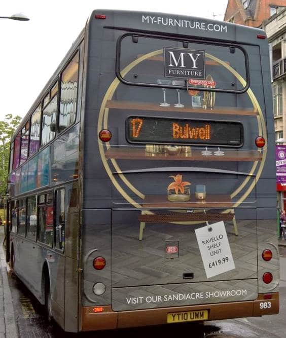 Nottingham Bus Advertising