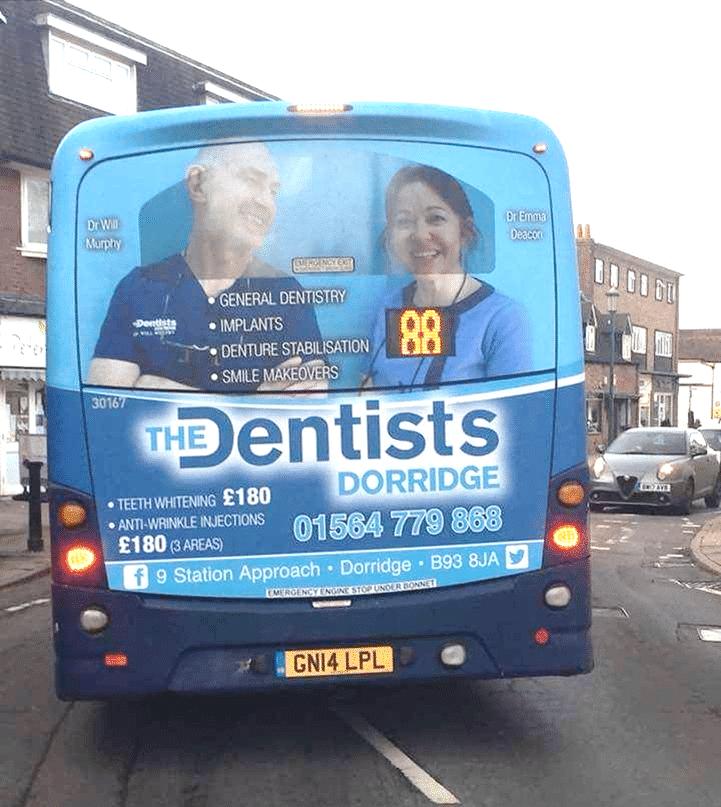 Bus Advertising in Solihull